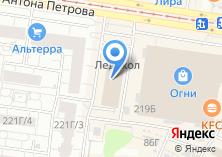 Компания «Гарантия» на карте