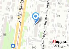 Компания «Малахова 101» на карте