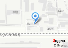 Компания «Сибирь-Шина» на карте