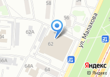 Компания «Оптика» на карте
