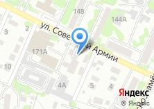 Компания «Азурит» на карте
