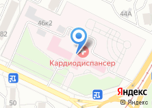 Компания «Алтайский краевой кардиологический диспансер» на карте