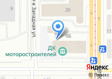 Компания «Дворец культуры Моторостроителей» на карте