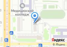 Компания «Общежитие Барнаульский базовый медицинский колледж» на карте