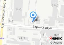 Компания «Далар» на карте