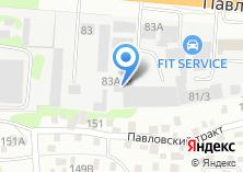 Компания «Реагент» на карте
