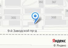 Компания «Мега-Сервис» на карте