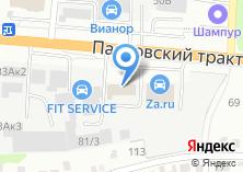 Компания «Абсолют мини-отель - Недорогой отель в Барнауле» на карте