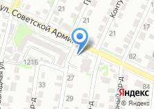 Компания «Мирра-мебель» на карте