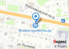 Компания «Шинтоп» на карте