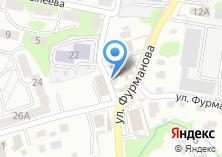 Компания «Генеральские бани+кухня Мельница» на карте
