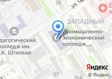 Компания «Алтайский промышленно-экономический колледж» на карте