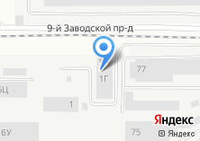 Компания «Мегаспан» на карте
