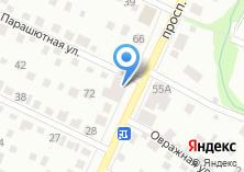 Компания «Автовинил22» на карте
