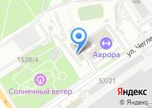 Компания «САПИР» на карте