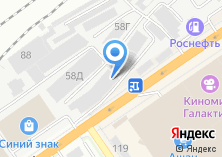 Компания «АлтайМебель.рф» на карте