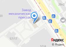 Компания «Авент» на карте