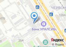 Компания «УФСИН» на карте