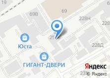 Компания «Калиф» на карте