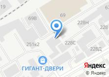 Компания «КОМСНАБ» на карте