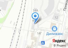 Компания «Барнаульский отряд ведомственной охраны на Западно-Сибирской железной дороге» на карте