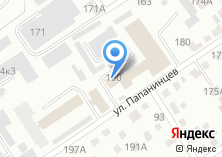 Компания «Производственно-технический центр федеральной противопожарной службы по Алтайскому краю» на карте