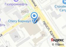 Компания «Барнаул-Моторс» на карте