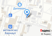 Компания «ПолиграфычЪ-Алтай» на карте