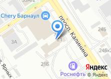 Компания «Алтайская кладовая» на карте