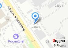 Компания «Шиномонтажная мастерская на ул. Калинина» на карте