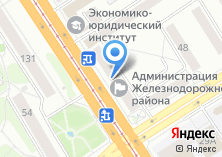 Компания «Комитет по развитию предпринимательства и потребительскому рынку Администрации Железнодорожного района» на карте