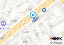 Компания «ТрансАвиа-Тур» на карте