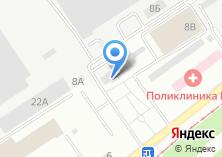 Компания «Инлайн» на карте