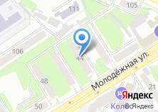Компания «Адвокатская контора №1 Железнодорожного района» на карте