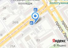 Компания «Дельтаком» на карте