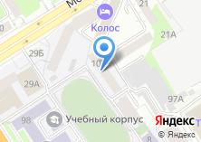 Компания «Общежитие АГАУ» на карте