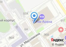 Компания «Дворец Зрелищ и Спорта им. Г.С. Титова» на карте