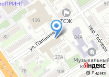 Компания «Мир оргтехники Мегастар» на карте
