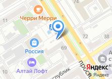 Компания «Мармеладов» на карте