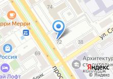 Компания «Центр авиационных услуг» на карте