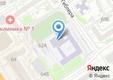 Компания «Гимназия №27 им. Героя Советского Союза В.Е. Смирнова» на карте