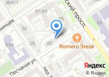 Компания «ИннаСтиль» на карте