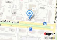 Компания «Сибэнерготелеком» на карте