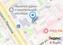 Компания «АлтГАКИ» на карте