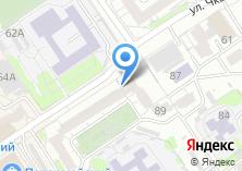 Компания «Исида» на карте