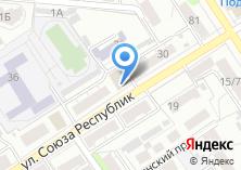 Компания «Строящееся административное здание по ул. Союза Республик» на карте