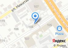 Компания «Инастра» на карте
