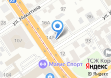Компания «Алтайское отделение общественной организации Всероссийского общества автомобилистов» на карте