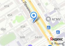 Компания «Алтайский лен» на карте