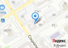 Компания «Алтайсейф» на карте